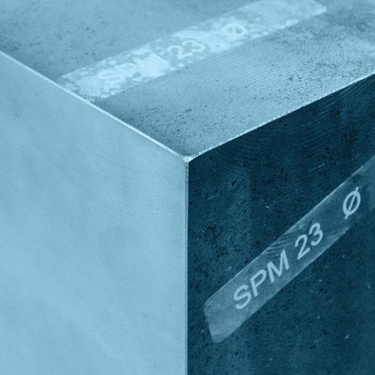 STM Pulverstahl Handels GmbH | SPM 23 Stahlblock